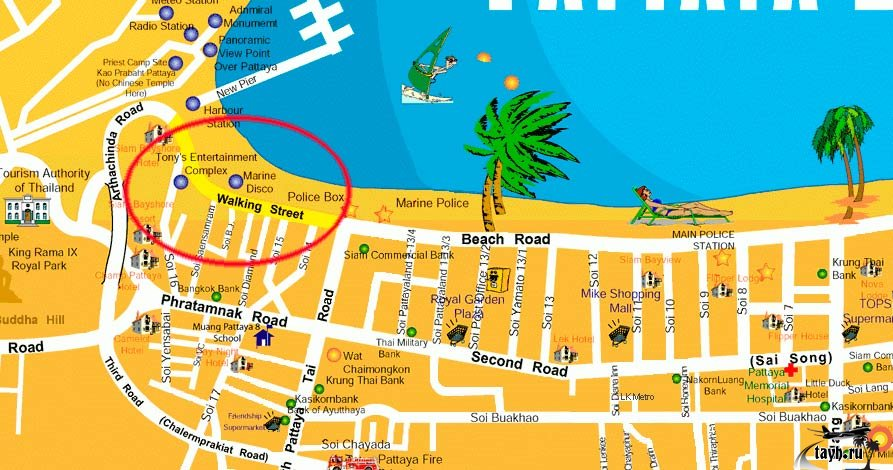 Pattaya где находится