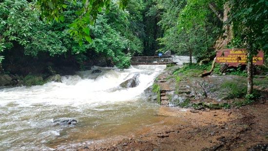 водопад Pala-U