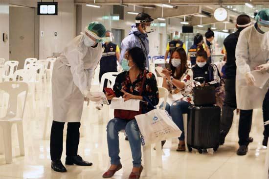 коронавирус Таиланд