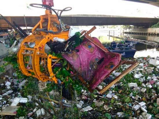 мусор в Бангкоке